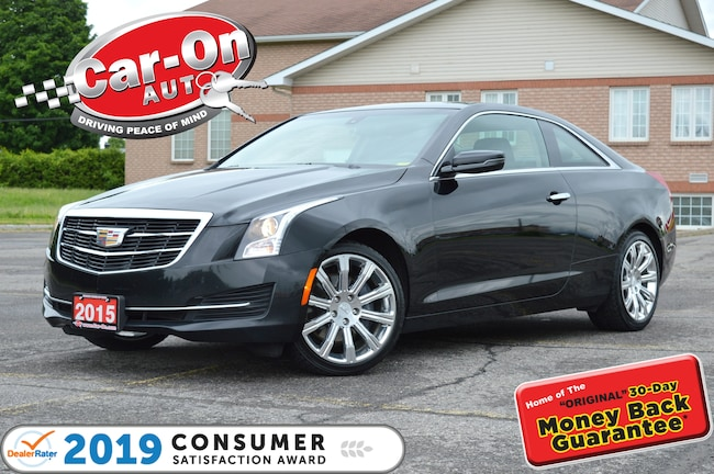 2015 Cadillac ATS 2.0T COUPE AWD LEATHER SUNROOF REAR CAM LOADED Coupe
