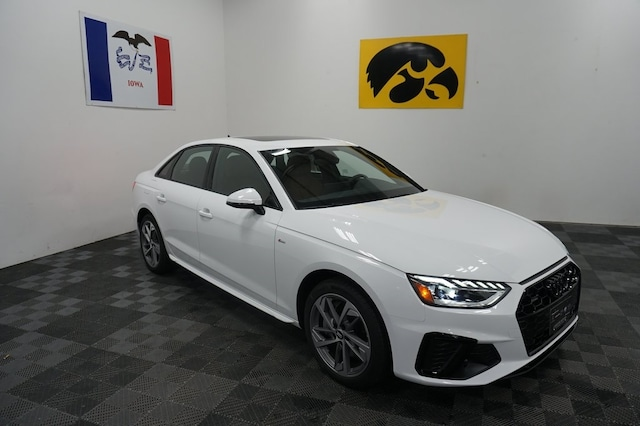 New 2021 Audi A4 45 S Line Premium Sedan for sale near Marion, IA