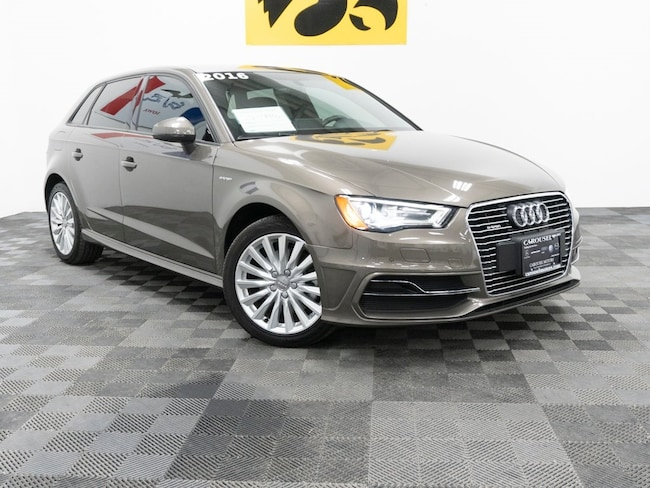Used 2016 Audi A3 E Tron For Sale At Carousel Mazda Vin