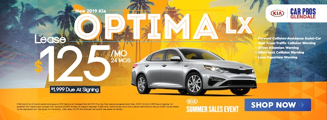 New Vehicle Specials Car Pros Kia Glendale