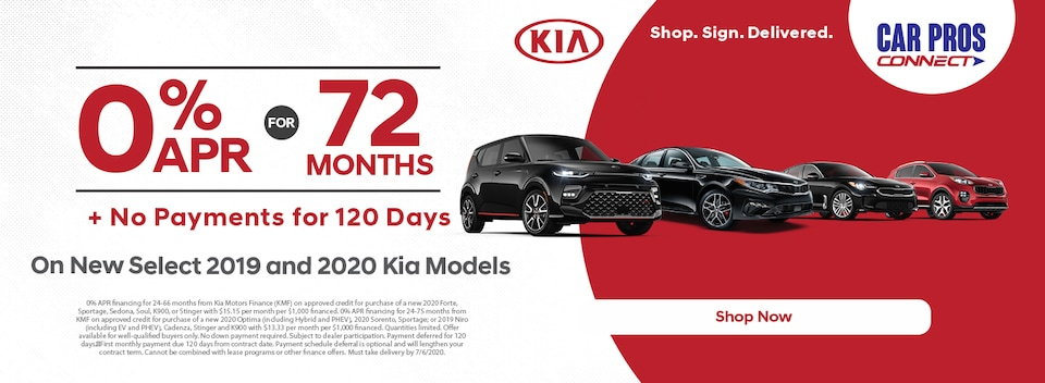0% APR Up To 72 Months + No Payments for 120 Days