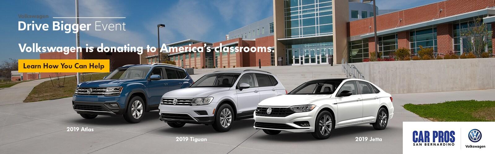 VW Dealership | San Bernardino | Car Pros Volkswagen