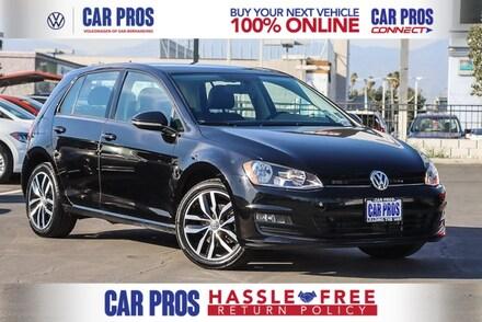 2017 Volkswagen Golf TSI SE 4-Door Hatchback
