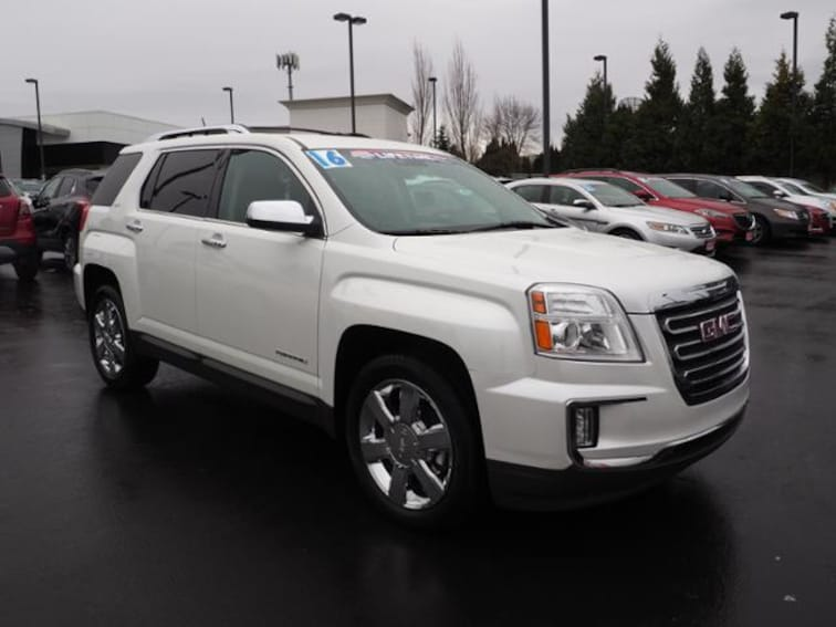Pre-Owned 2016 GMC Terrain SLT SUV in Beaverton, OR