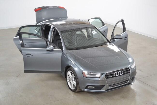2014 Audi A4 2.0T Quattro Technik GPS*Cuir*Toit Ouvrant* Berline