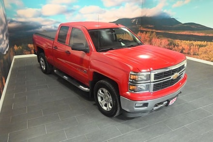 2014 Chevrolet Silverado 1500 4WD Double Cab 143.5 LT w/2LT Extended Cab Pickup