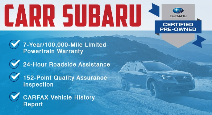 Carr Subaru - Certified Pre Owned Vehicles | Beaverton, OR