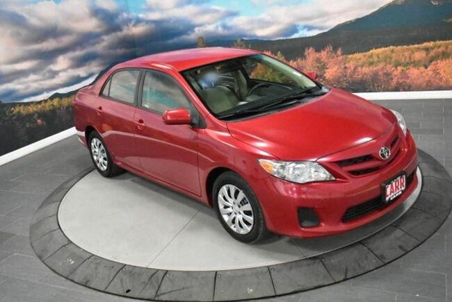 2012 Toyota Corolla 4dr Sdn Auto LE Car