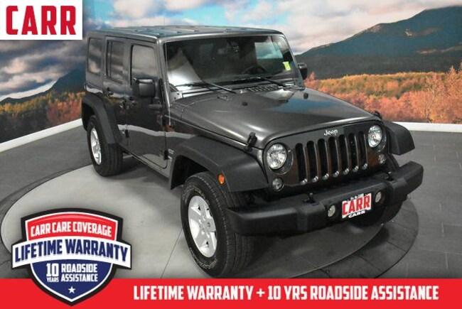 2017 Jeep Wrangler Unlimited Sport 4x4 Sport Utility
