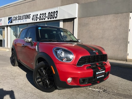 2014 MINI Countryman Cooper S ALL4-AUTO-SUNROOF Compact