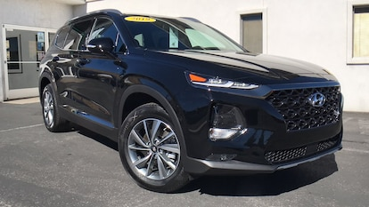 New 2019 Hyundai Santa Fe in Carson City NV