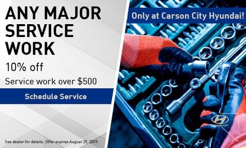 July | Major Service work