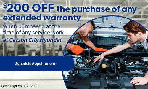 $200 off Extended Warranty!