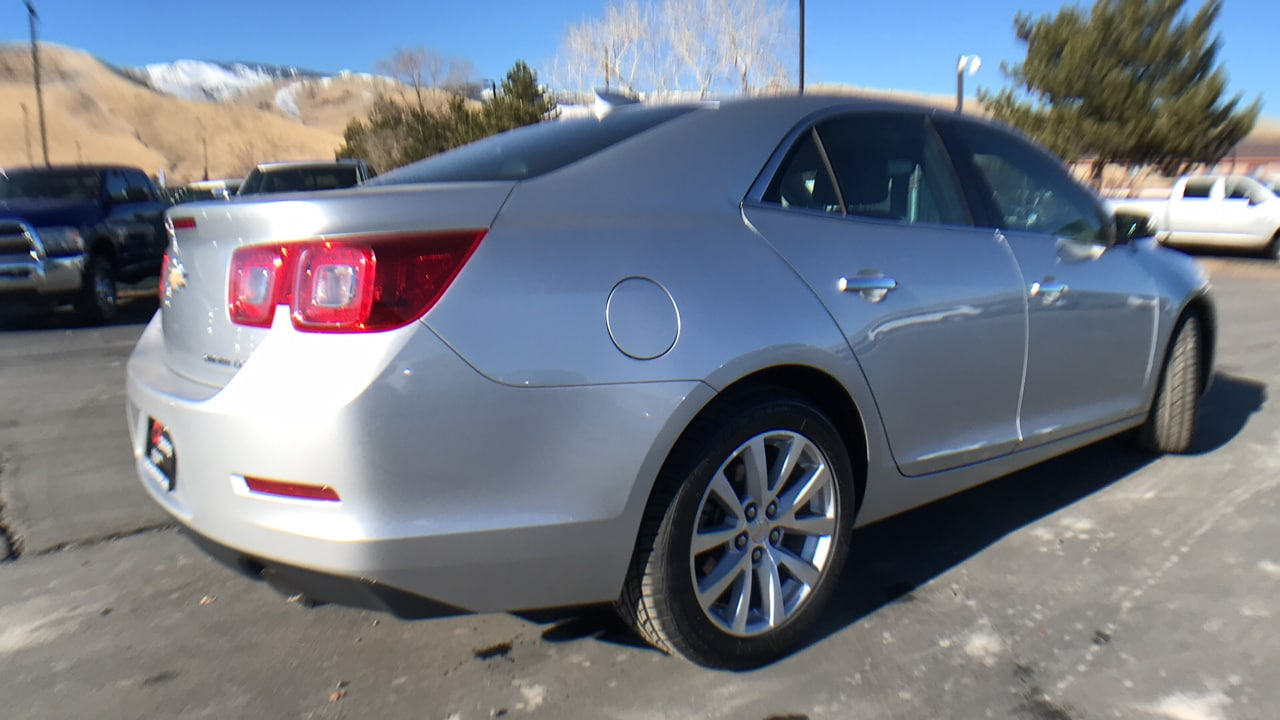 Used 2016 Chevrolet Malibu Limited LTZ Silver Ice 18GC103C For Sale
