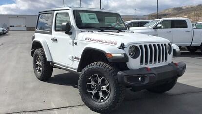 New 2019 Jeep Wrangler Bright White Rubicon 4x4 19w023 For Sale