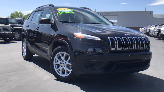 Carson City Jeep >> Used 2016 Jeep Cherokee Sport Fwd For Sale Carson City Nv