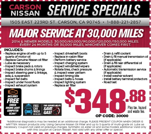 Nissan service and repair specials los angeles carson nissan offer publicscrutiny Images