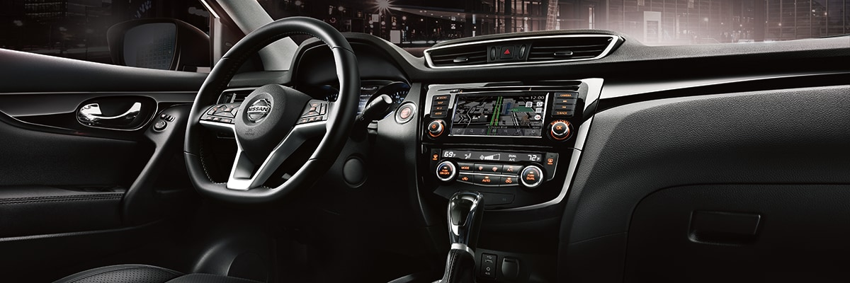Nissan Rogue Sport Interior Vehicle Features