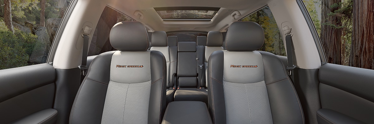 Nissan Pathfinder Interior Vehicle Features