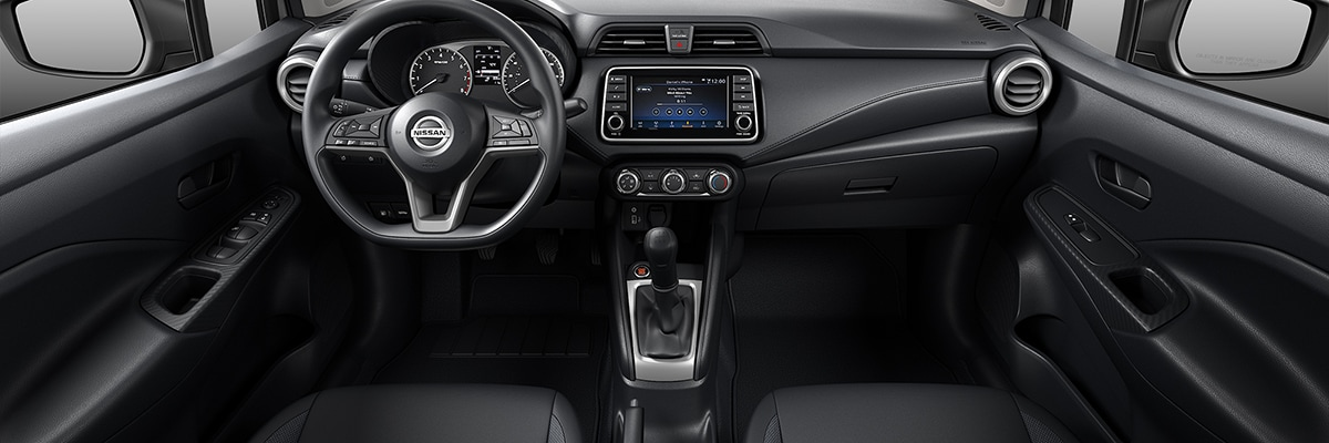 Nissan Versa Interior Vehicle Features