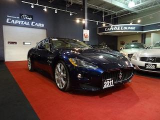2011 Maserati GranTurismo GRANTURISMO S / NAVIGATION / 440 HORSEPOWER Coupe