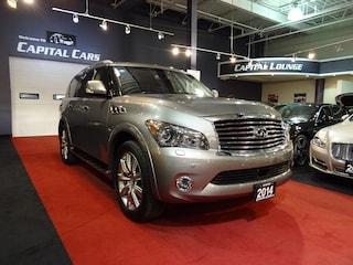2014 INFINITI QX80 NAVIGATION / 360' PARK ASSIST / 7 PASSENGER SUV