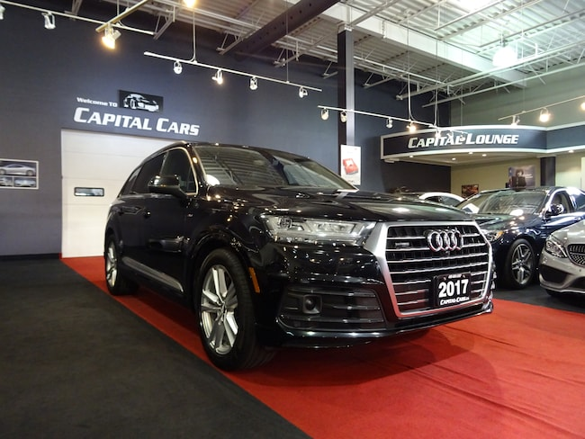 2017 Audi Q7 3.0T TECHNIK / S-LINE / NAVI / 360 PARK ASSIST SUV