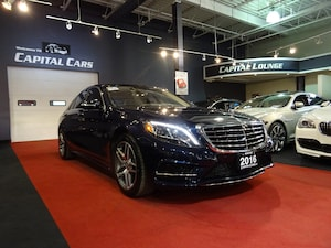 2016 Mercedes-Benz S-Class S400 4MATIC / NIGHT VISION / NAVIGATION / AMG PKG