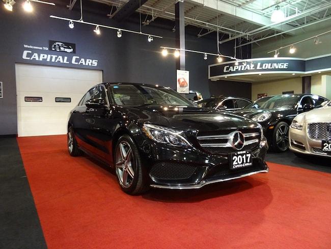 2017 Mercedes-Benz C-Class C300 4MATIC / NAVI / 360' PARK ASSIST / AMG PKG Sedan
