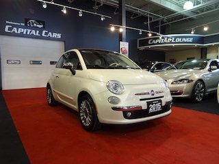 2015 Fiat 500C LOUNGE / / BEATS BY DRE Cabriolet