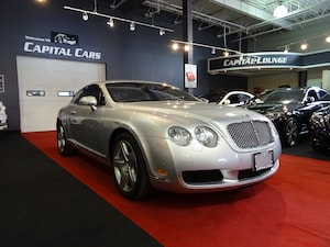 2004 Bentley Continental GT / NAVIGATION / 552 HP / FULL SERVICE UP TO DATE