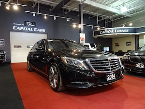 2014 Mercedes-Benz S-Class S550 4MATIC LWB / NAVIGATION / 360' PARK ASSIST