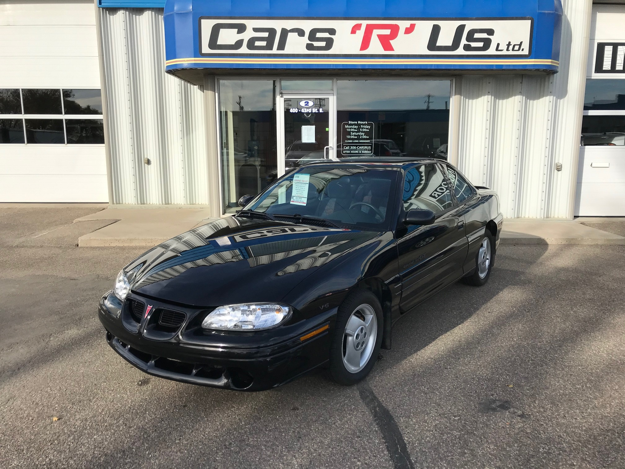 Used 1998 Pontiac Grand Am For Sale At Cars R Us Ltd Vin 1g2nw12m6wc704032