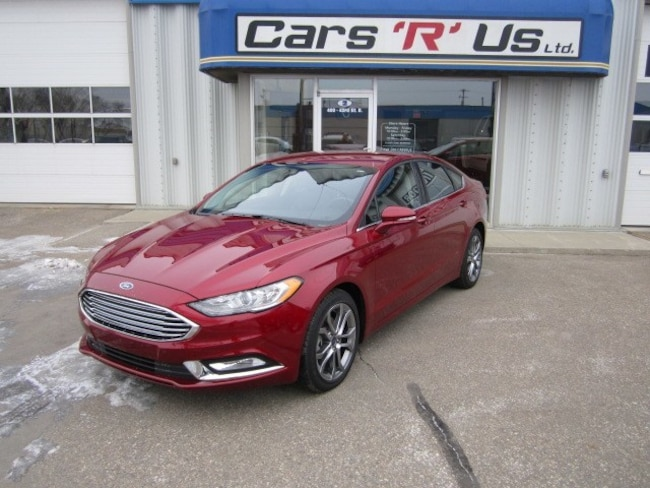 2017 Ford Fusion SE AWD LEATHER LOADED ONLY 8K! Sedan