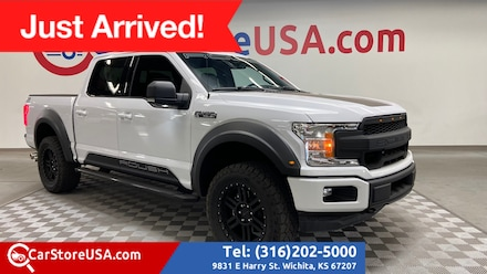2020 Ford F-150 SuperCrew ROUSH 4x4 Supercharged Truck SuperCrew Cab