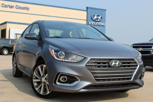 New Hyundai 2019 Hyundai Accent Limited 10773 for sale in Ardmore, OK