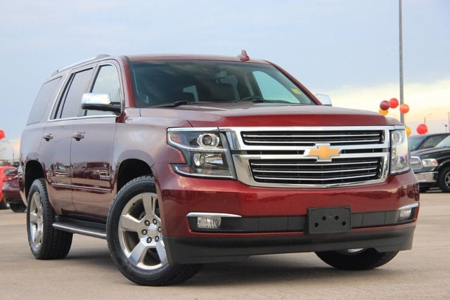 Featured Pre-Owned 2017 Chevrolet Tahoe 4X4 PREMIER ONE OWNER FACTORY WARRANTY PRISTINE SUV for sale near you in Ardmore, OK