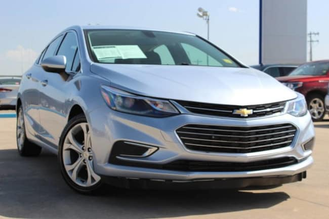 Used 2017 Chevrolet Cruze LOADED OUT WITH AMENITIES AND LOW MILES, RUNS PERF for sale in Ardmore, OK