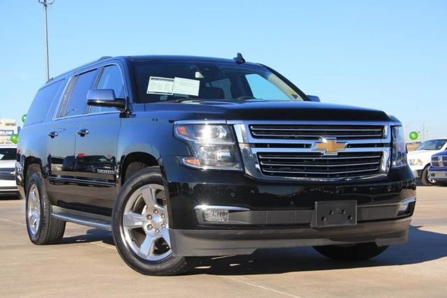 Featured Pre-Owned 2017 Chevrolet Suburban 4x4 BUCKET SEATS LEATHER NAV ROOF ONLY 35K MILES SUV for sale near you in Ardmore, OK