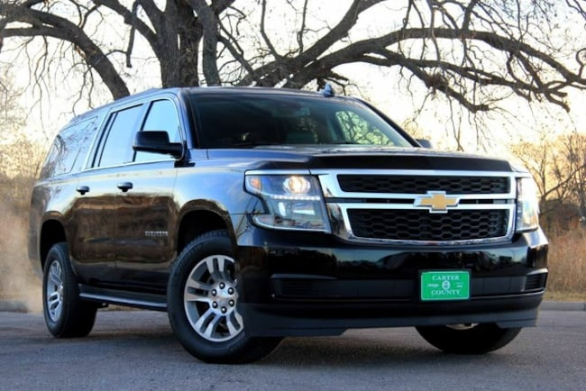 Used 2017 Chevrolet Suburban LUXURY EDITION LOADED LOW MILES ONE OWNER FACTORY for sale in Ardmore, OK