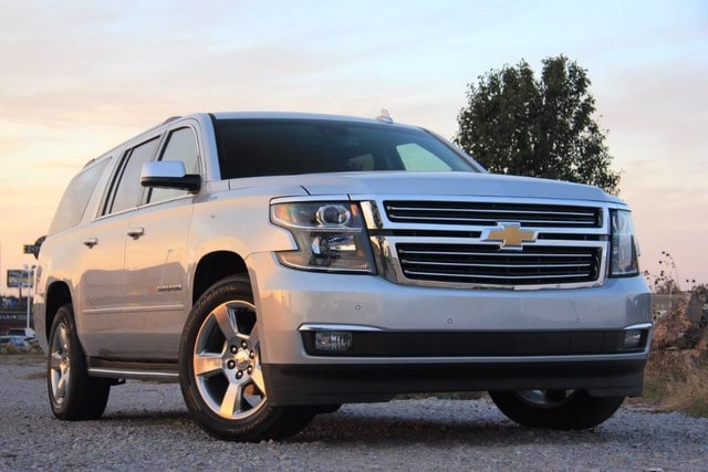 Featured pre-owned vehicle 2017 Chevrolet Suburban LEATHER 4X4 BUCKETS ONLY 35K MILES 4dr for sale in Ardmore, OK