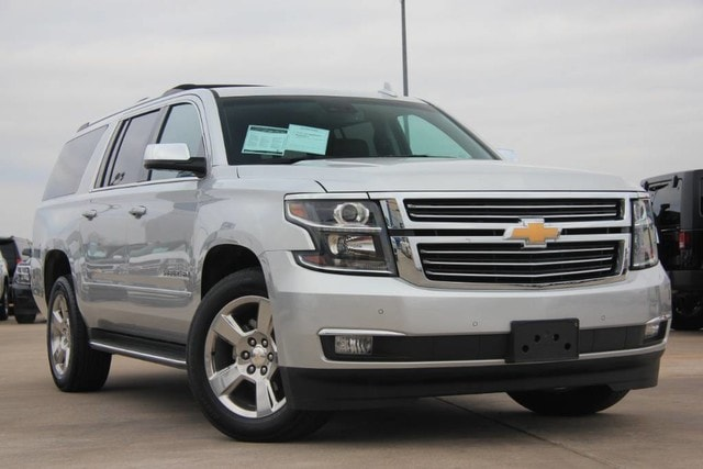 Featured Pre-Owned 2017 Chevrolet Suburban PREMIER LOADED ONE OWNER WARRANTY REMAINING SUV for sale near you in Ardmore, OK