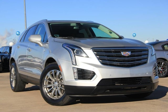 Featured Pre-Owned 2017 Cadillac XT5 SINGLE OWNER LUXURY EDITION 20K MILES 4dr for sale near you in Ardmore, OK