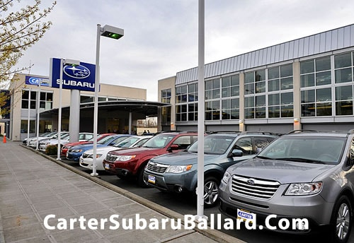 Subaru Dealership Seattle >> About Carter Subaru Ballard Seattle New Subaru Used Car Dealer