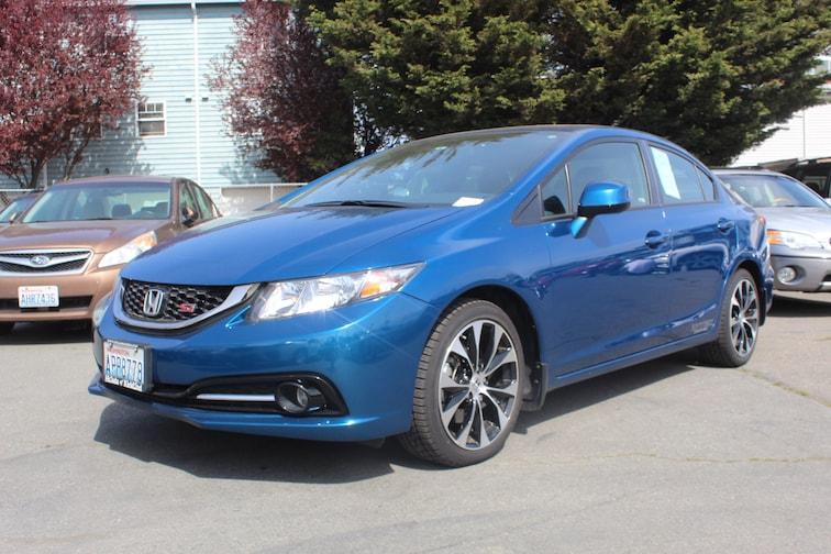 Used 2013 Honda Civic Si Sedan for sale in Seattle at Carter Subaru Ballard