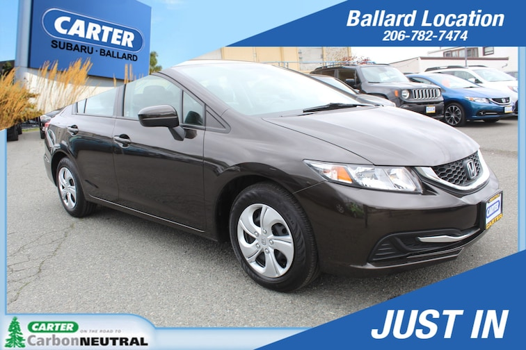 Used 2014 Honda Civic Sedan LX Sedan for sale in Seattle at Carter Subaru Ballard