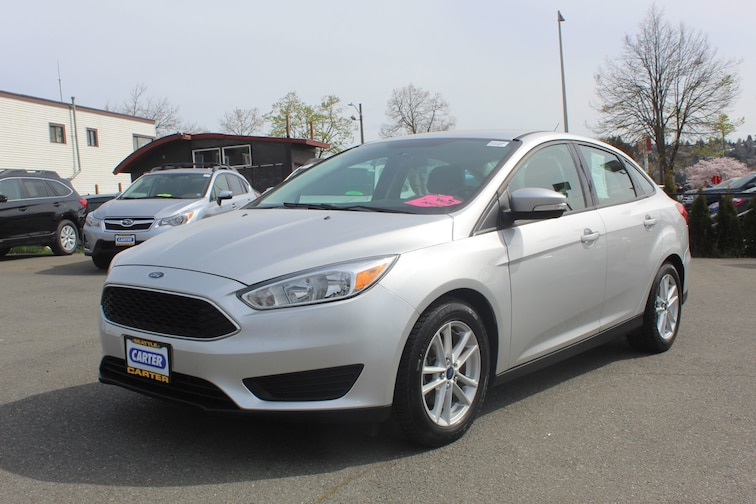 Used 2015 Ford Focus SE Sedan for sale in Seattle at Carter Subaru Ballard