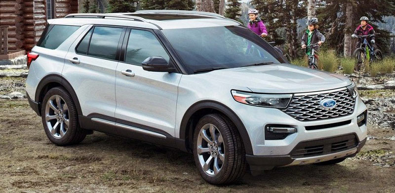 Caruso Ford - The 2020 Ford Explorer is a dynamic vehicle near Los Cerritos CA