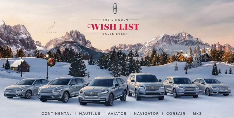 Caruso Lincoln - Lincoln Wish List Sales Event near Los Angeles CA