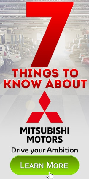 7 Things to know about Mitsubishi